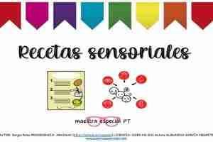 recetas sensoriales